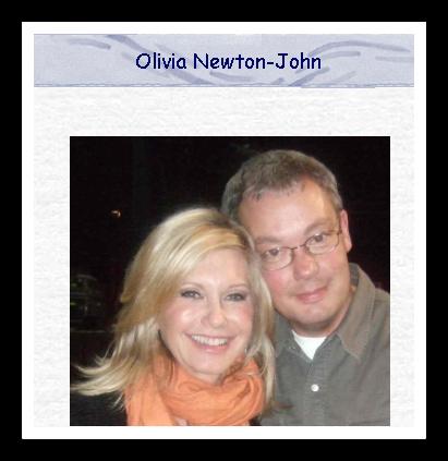 Peter Vosen's Olivia Newton-John Site
