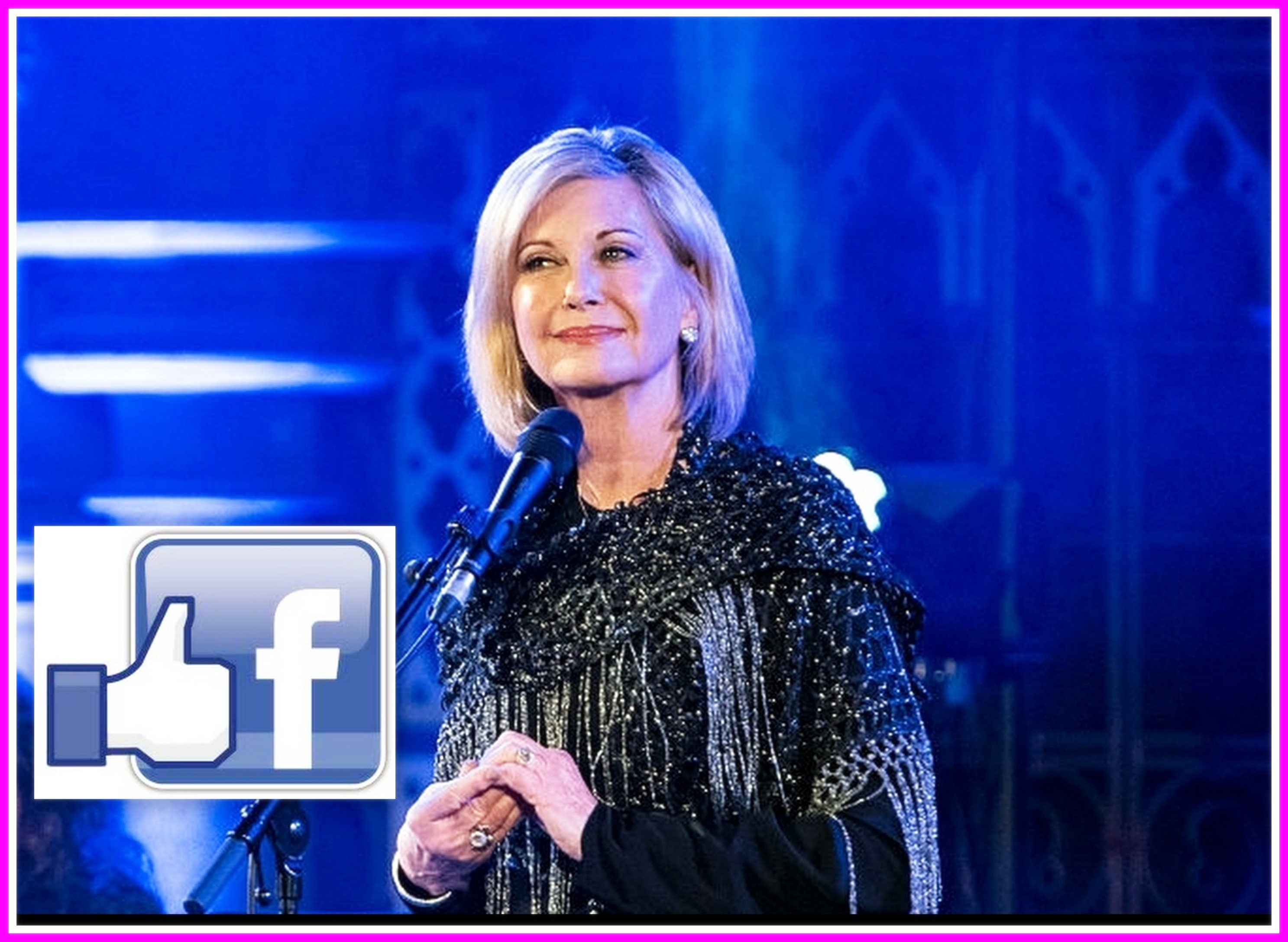 Olivia Newton-John On Facebook
