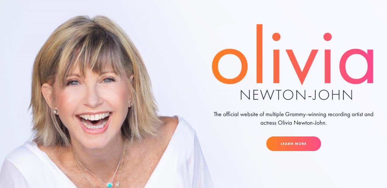 Olivia Newton-John Official Website